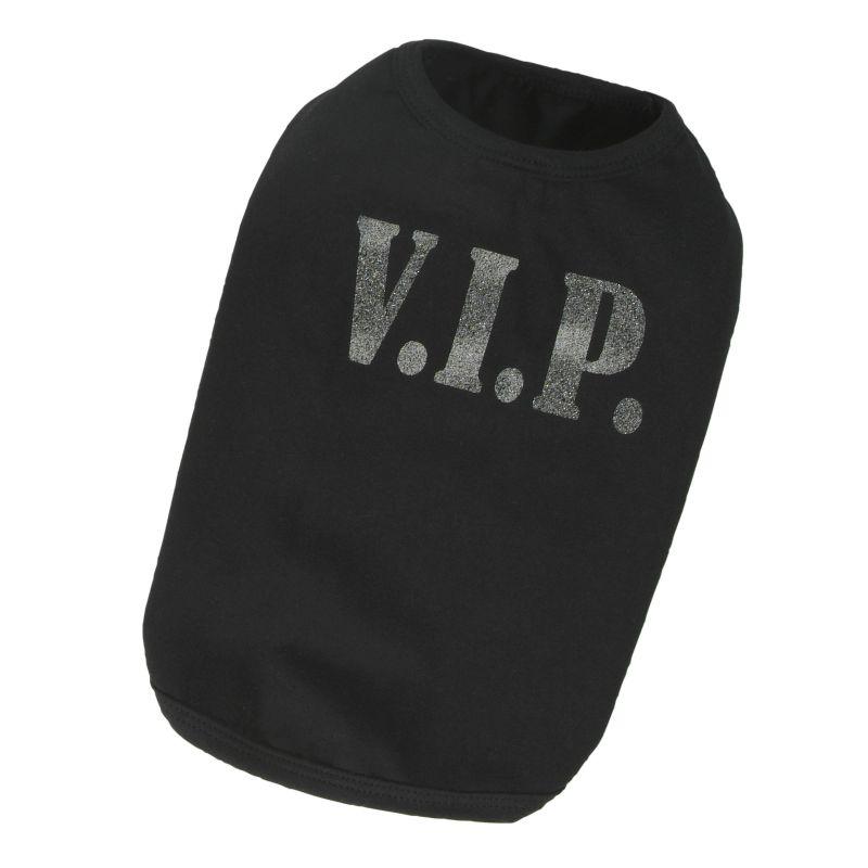 Tričko VIP - černá XXL I love pets
