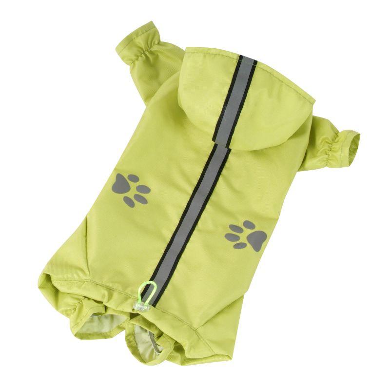 Kombinéza lehká šusťáková reflex - limetková XL I love pets