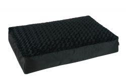 Ortopedická matrace 110 x 80 cm černá I love pets