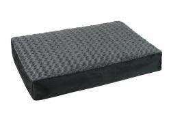 Ortopedická matrace 90 x 60 cm šedá I love pets