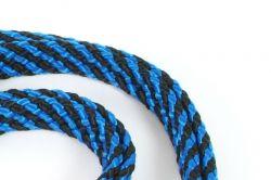 Vodítko běhací ploché 14 mm x 250 cm modrá