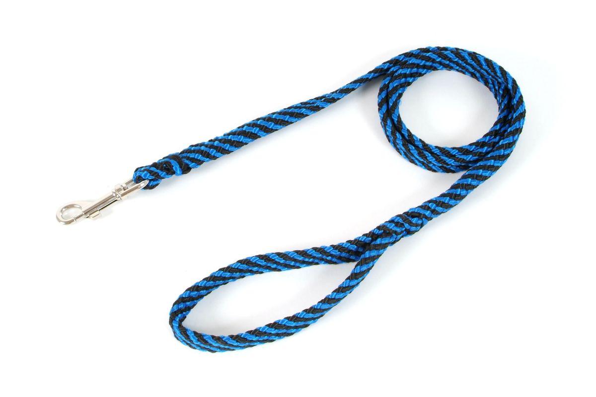 Vodítko lanové ploché 10 mm x 150 cm modrá I love pets