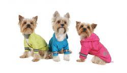 Bunda lehká šusťáková reflex - světle růžová (doprodej skladových zásob) XXS I love pets