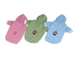 Bunda podšitá bavlnou - zelená M (doprodej skladových zásob) I love pets