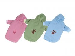 Bunda podšitá bavlnou - zelená S (doprodej skladových zásob) I love pets