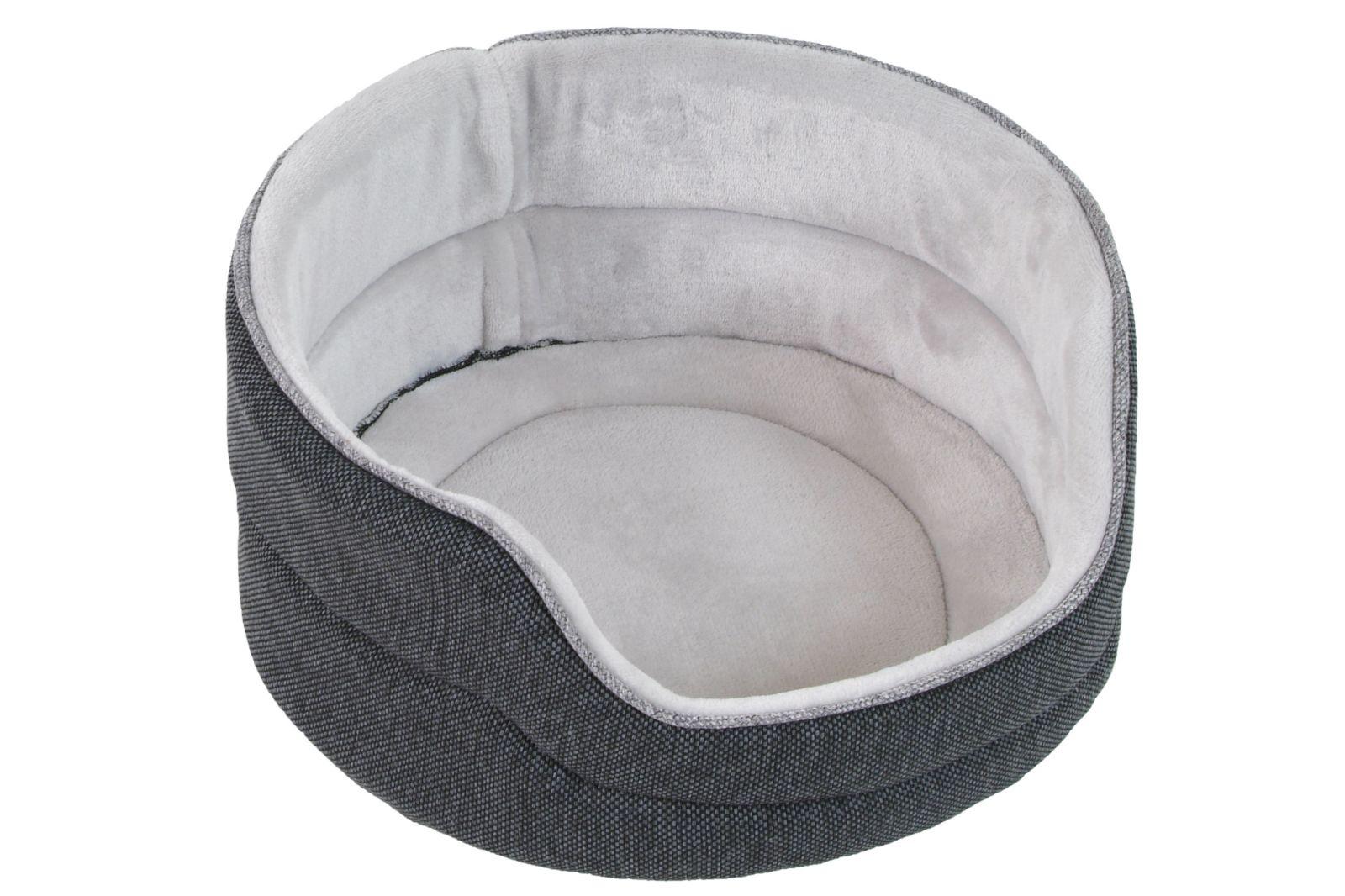 Agga Luxury 39 cm tm. šedá I love pets