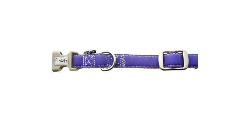 Reflexní obojek Pastel 10mm x 20-35cm James & Steel