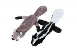 Pískací přetahovadlo pro psa – skunk, tchoř